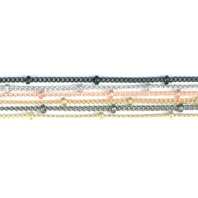 Urban Gem Multi-Chain Six Layer Necklace