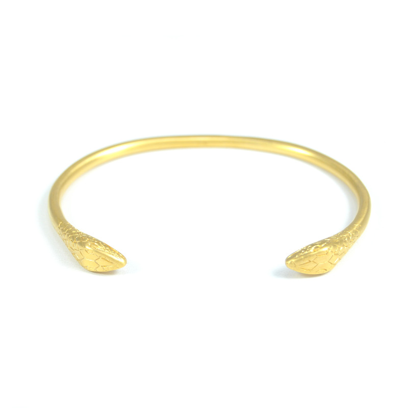 Lucas Jack Small Two-Headed Snake Bangle