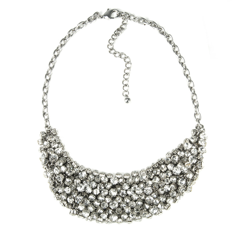 Urban Gem Casey Necklace in Silver