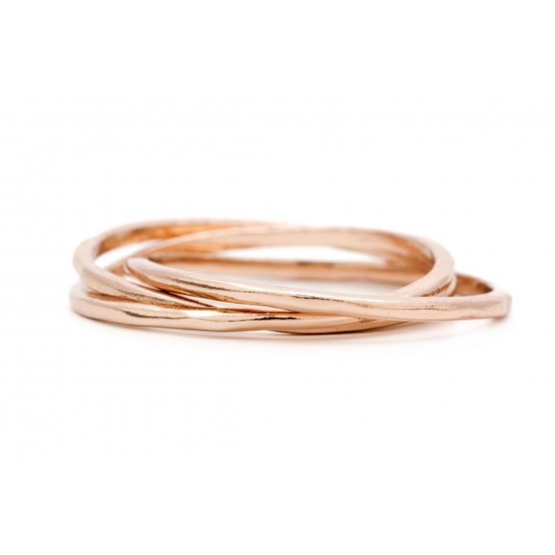 Gorjana Infinity II Ring in Rose Gold