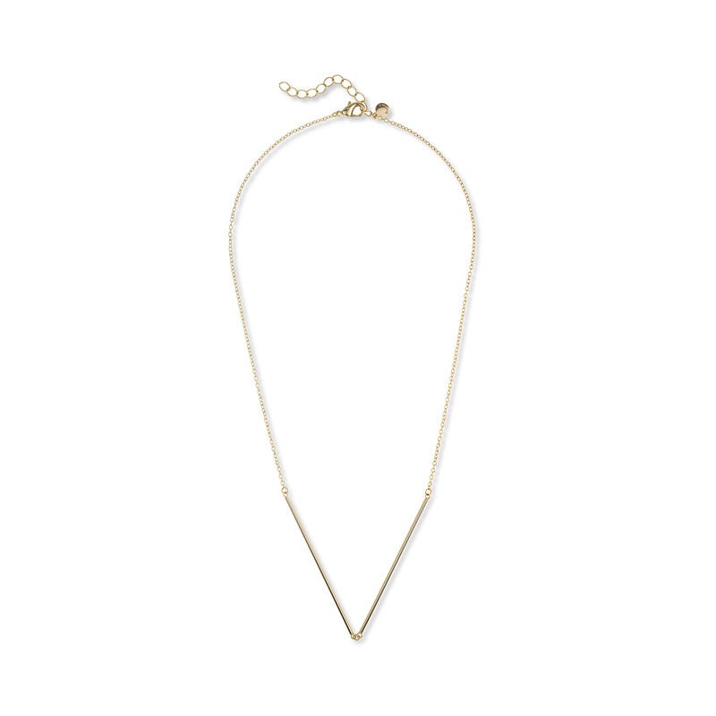 Gorjana Greer V-neck Necklace