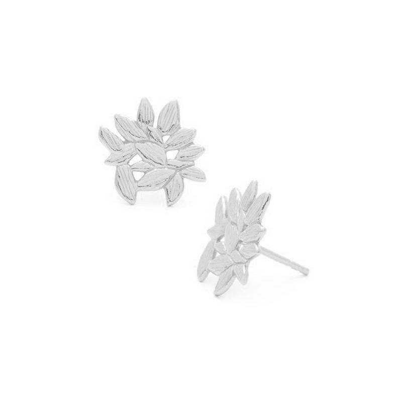 Gorjana Westerly Stud Earrings in Silver