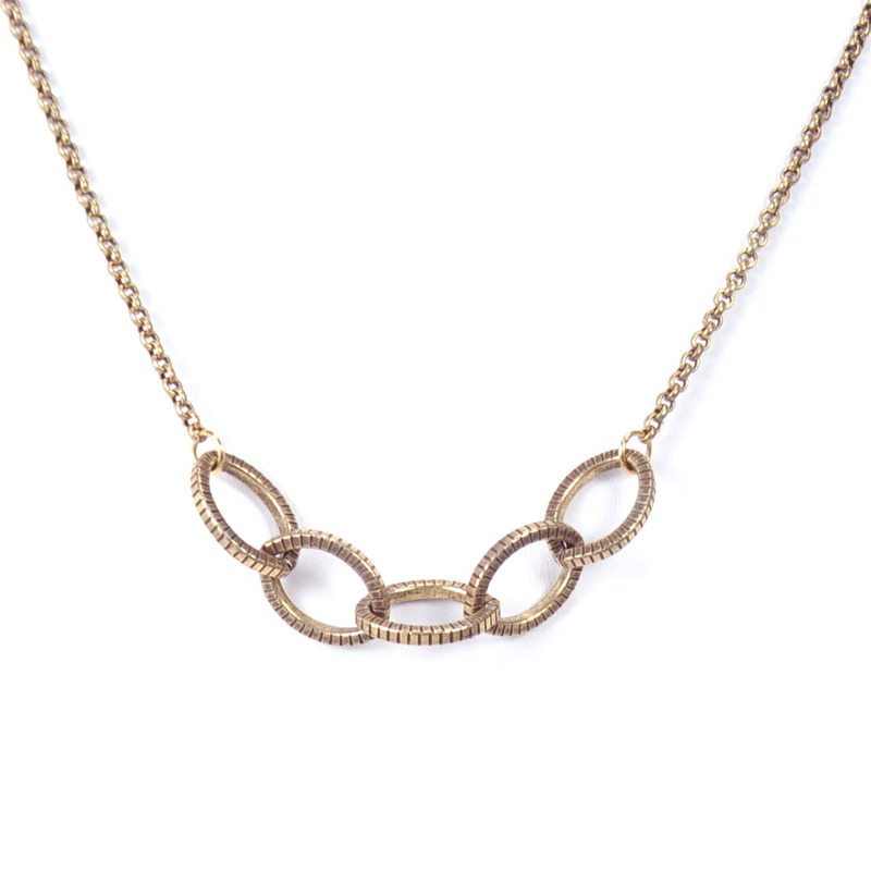 Salty Fox Jewelry Oval Link Chain Necklace