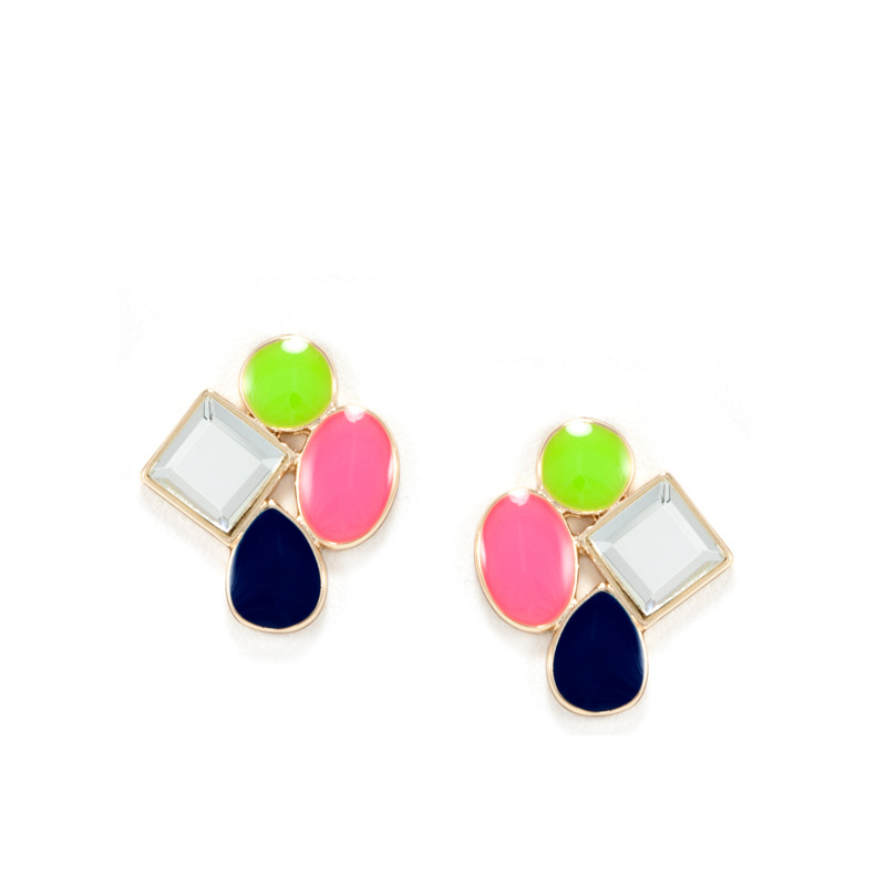 Isharya Indian Summer Stud Earrings