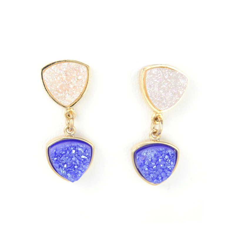 Dara Ettinger Cynthia Double Druzy Earrings