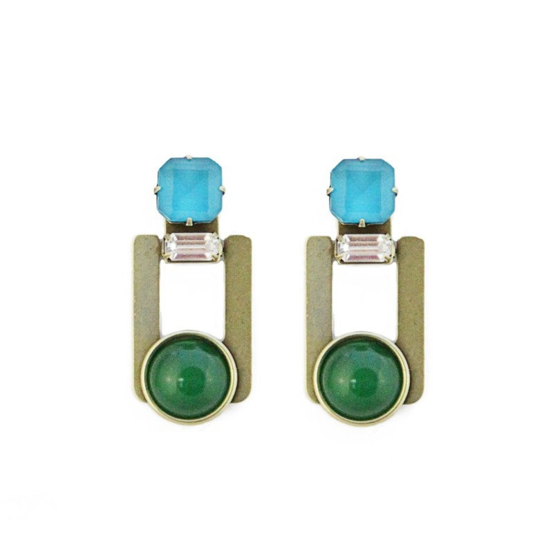 Loren Hope Collette Earrings in Marine