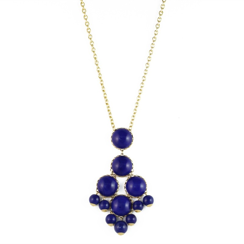 Loren Hope Dabney Necklace in Lapis