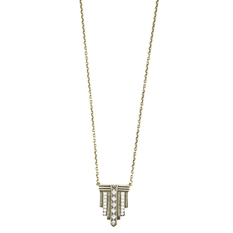 Loren Hope Gwyneth Long Pendant Necklace