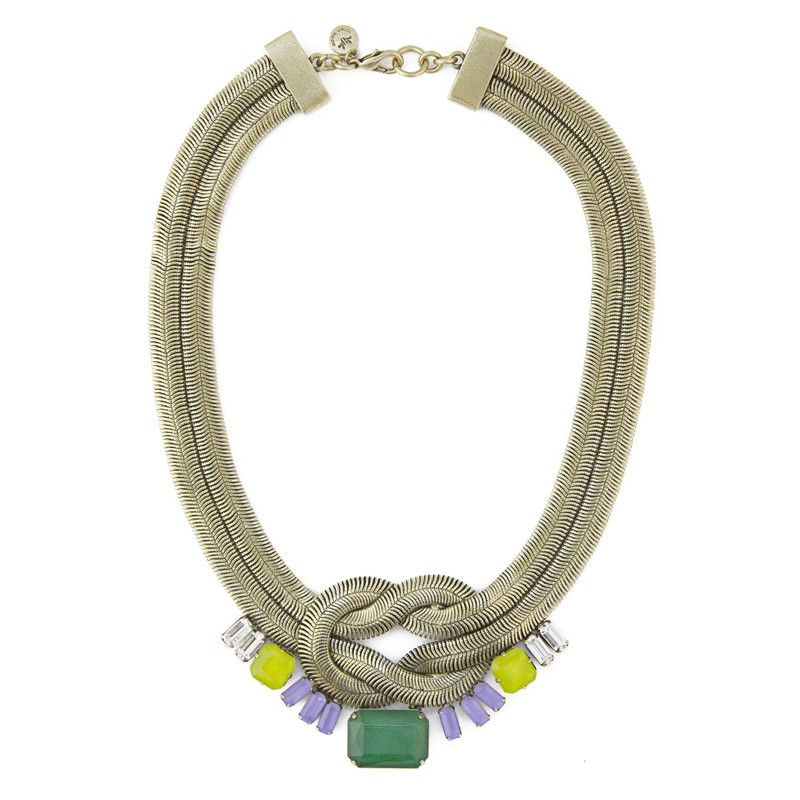 Loren Hope Gretta Necklace in Clover