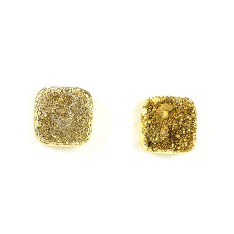 Robyn Rhodes Kourtney Earrings in Gold