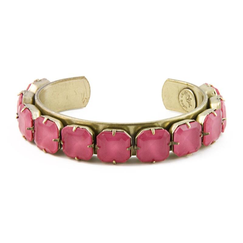 Loren Hope Sophia Adjustable Cuff in Hot Pink
