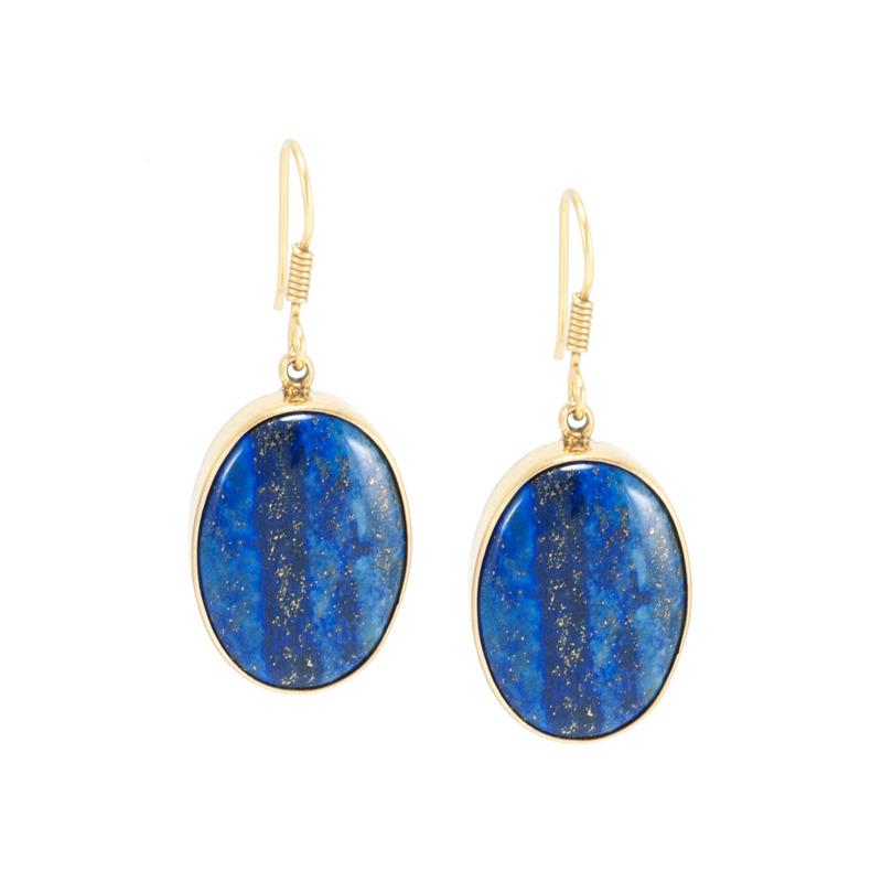 Charles Albert Lapis Lazuli Earrings