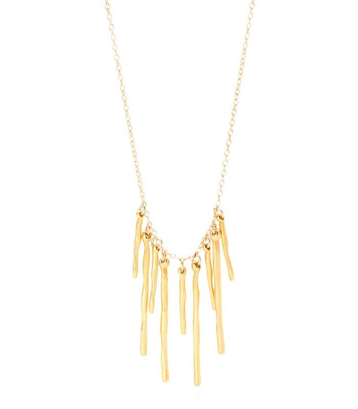 Gorjana Taner Dagger Varied Necklace in Gold