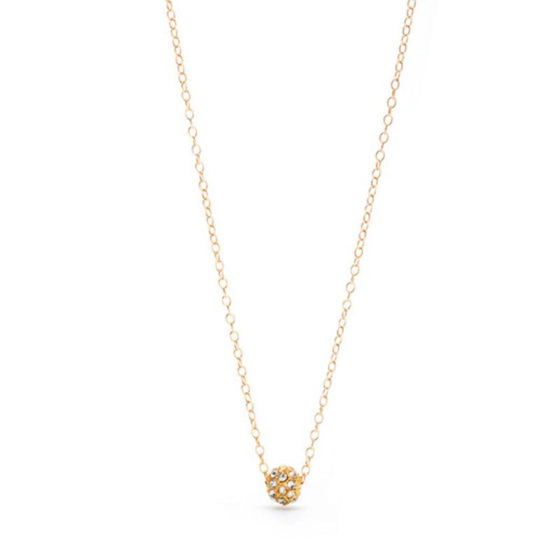 Gorjana Crystal Globe Necklace