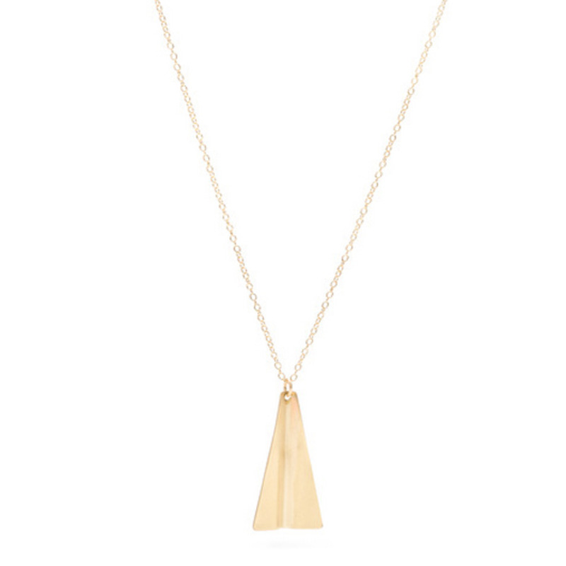 Gorjana Paper Plane Necklace