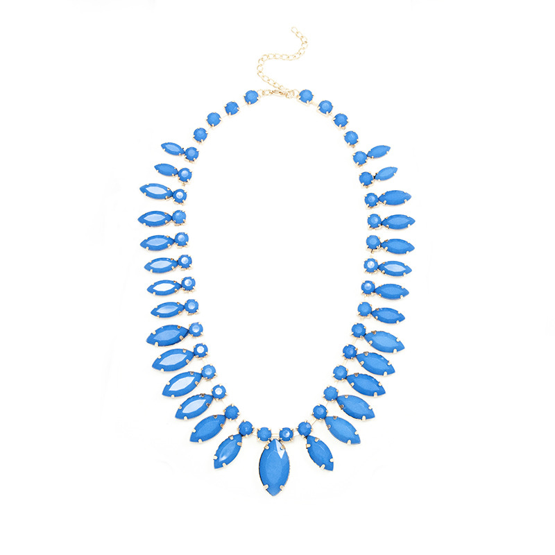 Urban Gem Into The Blue Necklace