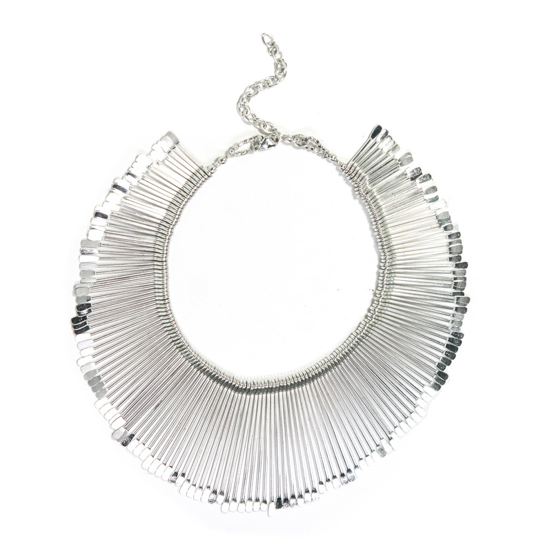 Anuja Tolia Sticks Necklace in Silver