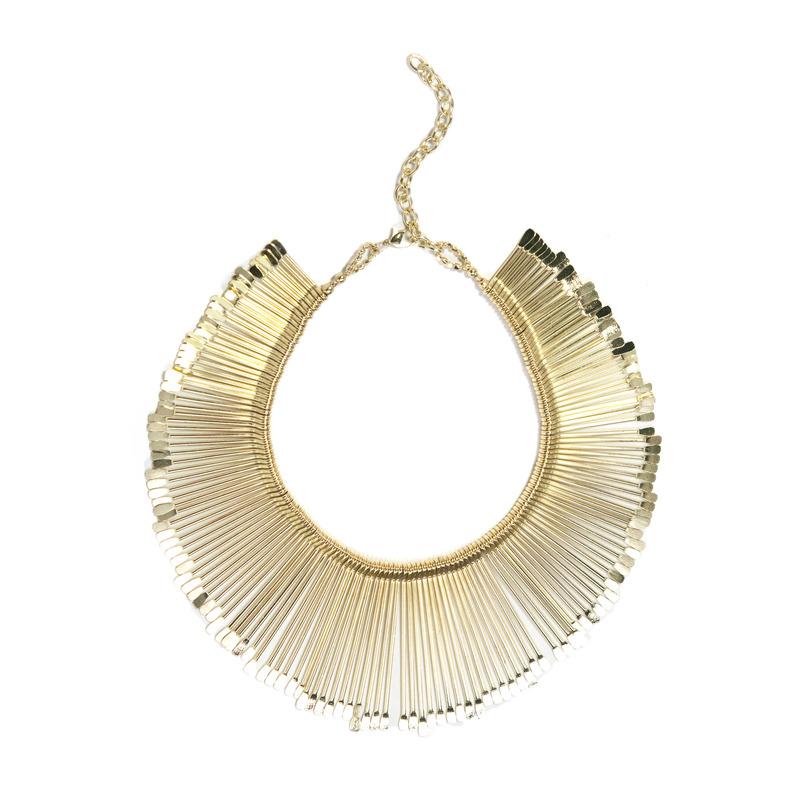 Anuja Tolia Sticks Necklace in Gold