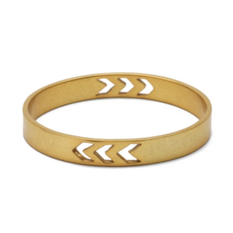 Edge of Ember Tallula Bangle in Gold