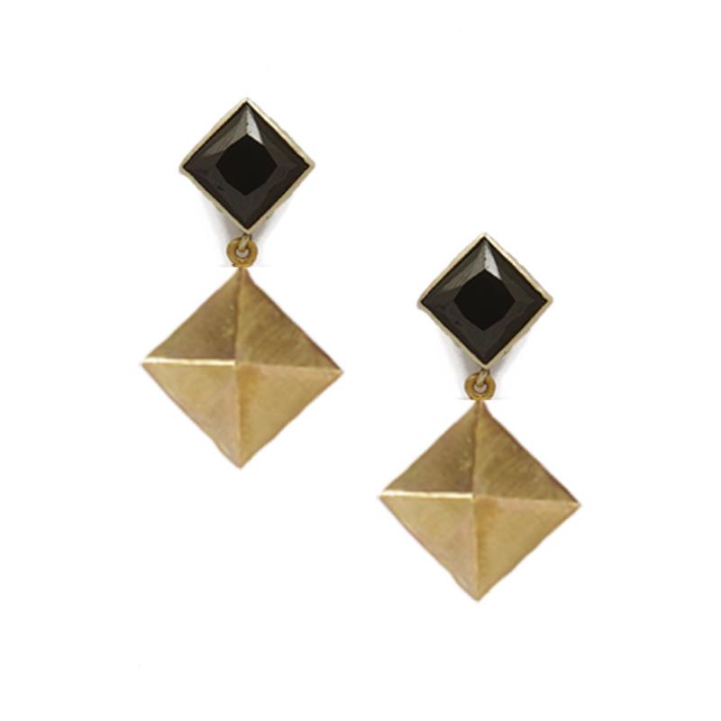 Edge of Ember Padma Earrings