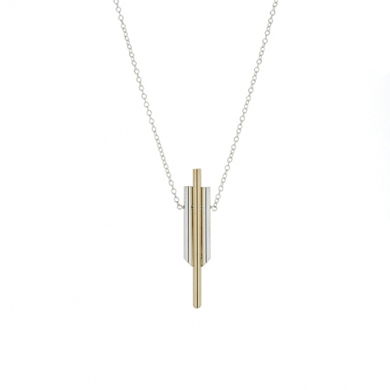 Lotus Jewelry Studio Chime Necklace in Gold