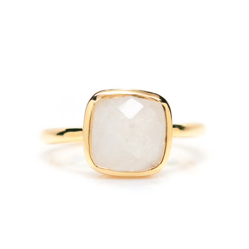 Gamine Rami Ring in Moonstone