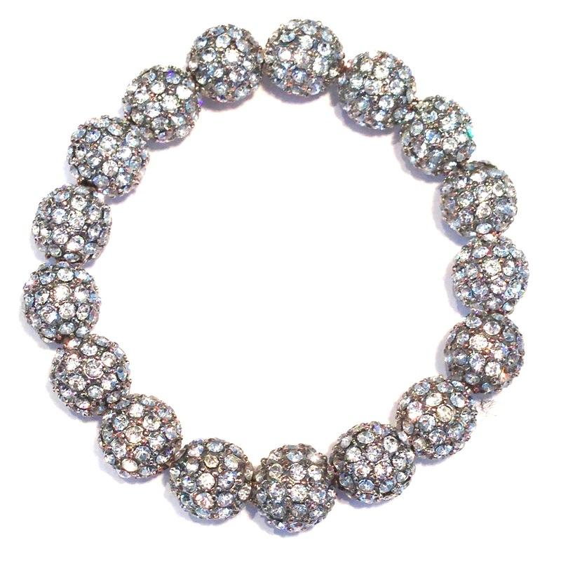 Urban Gem Pave Bracelet in Silver