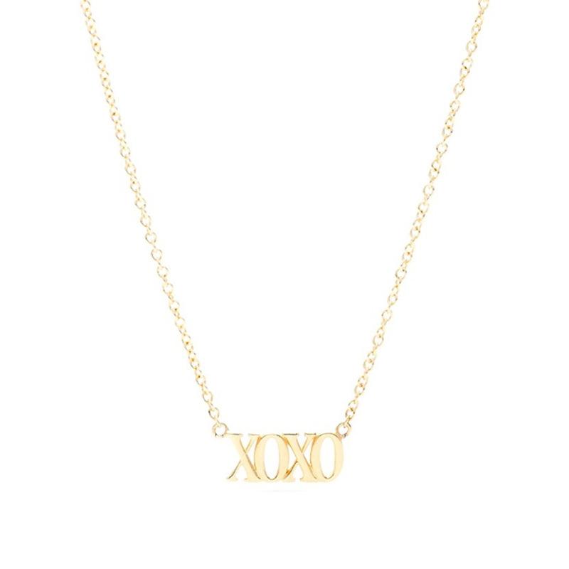 Gorjana XOXO Necklace