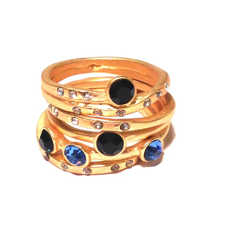 Urban Gem Counting Stars Ring Set in Montana