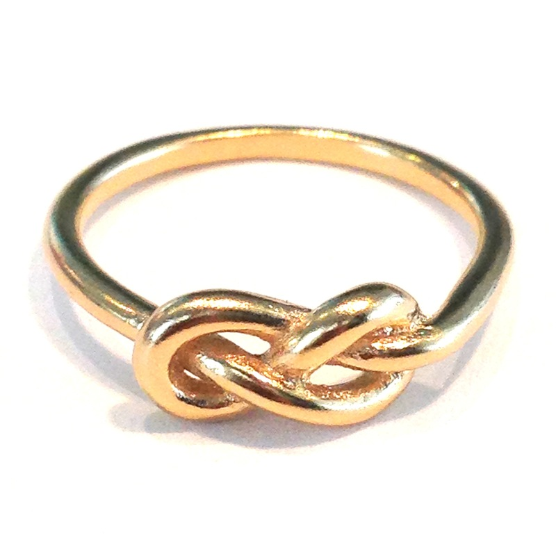 Urban Gem To Infinity Ring in Gold