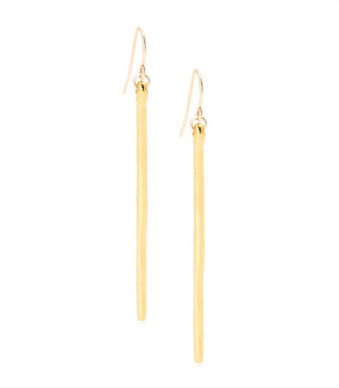 Gorjana Taner Dagger Earrings in Gold