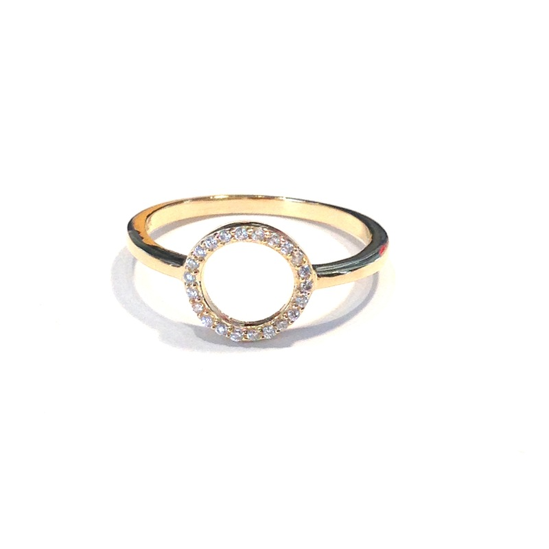 Urban Gem Carnival Ring in Gold