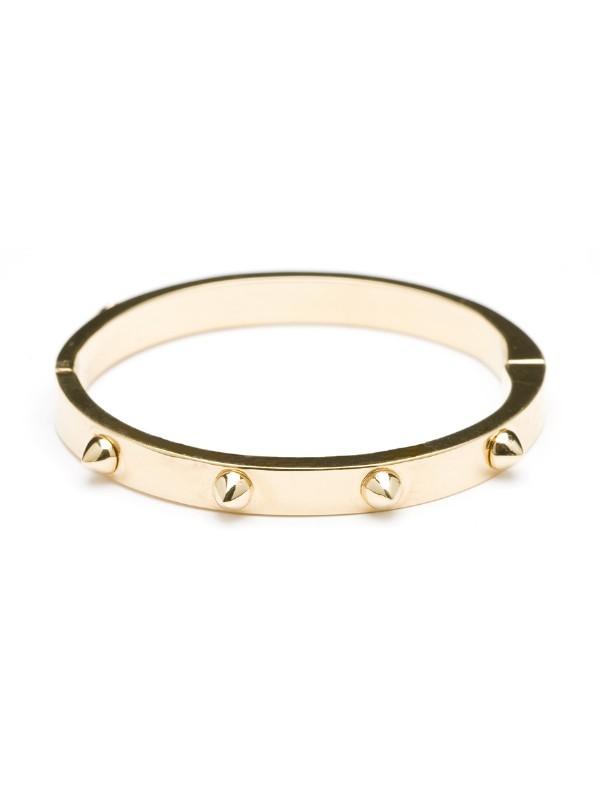 CC Skye Mini Spike Gold Bracelet