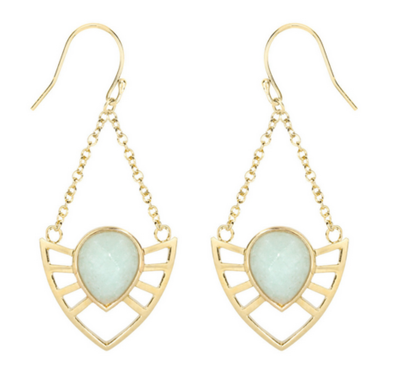 Matterial Fix Armor Earrings (Peru Collection)