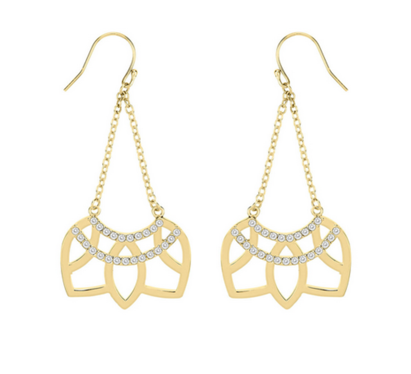 Matterial Fix Swinging Arch Earrings (India Collection)