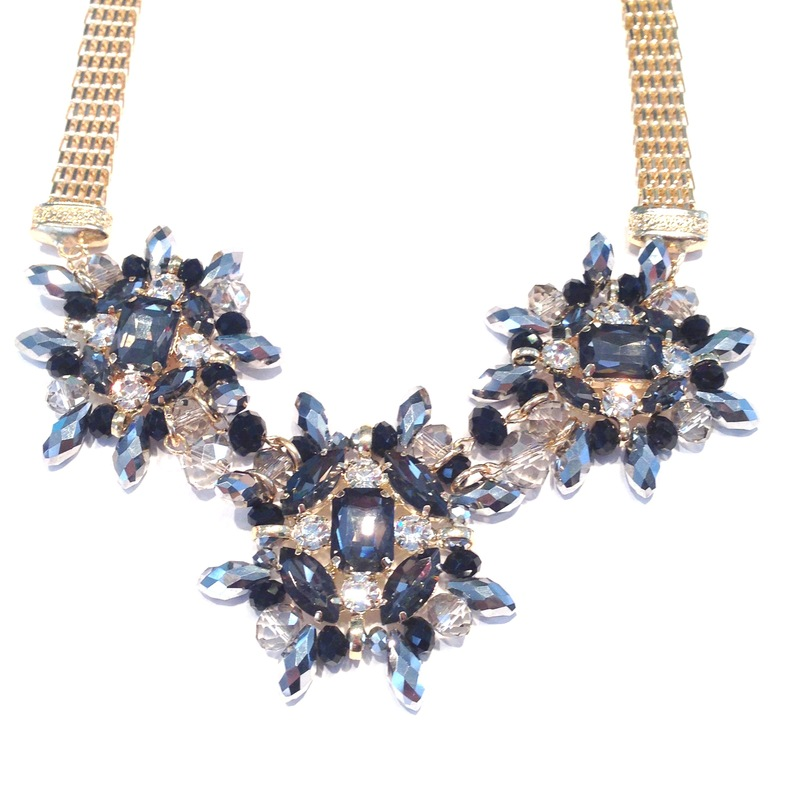 Urban Gem Grant Necklace in Midnight