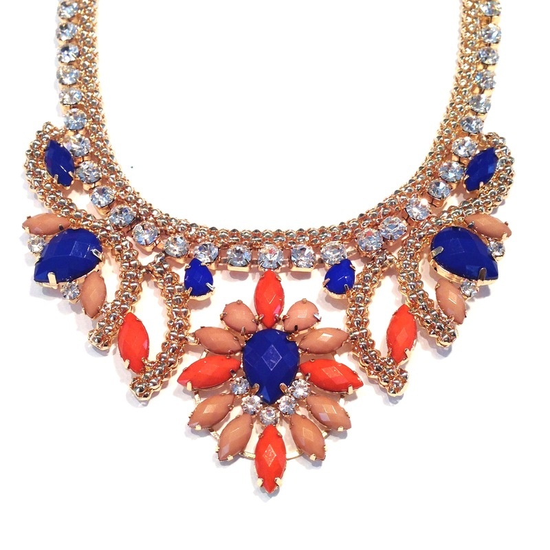 Urban Gem Alexandria Necklace in Holiday