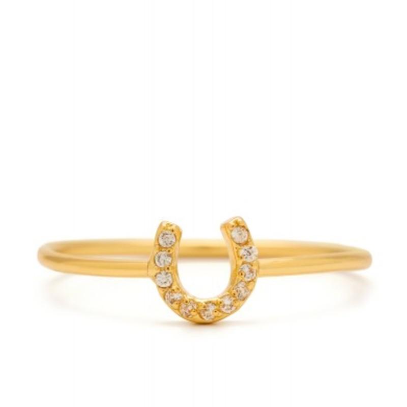 Gorjana Shimmer Horseshoe Ring