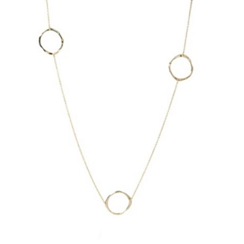 Gorjana G Charm Wrap Necklace