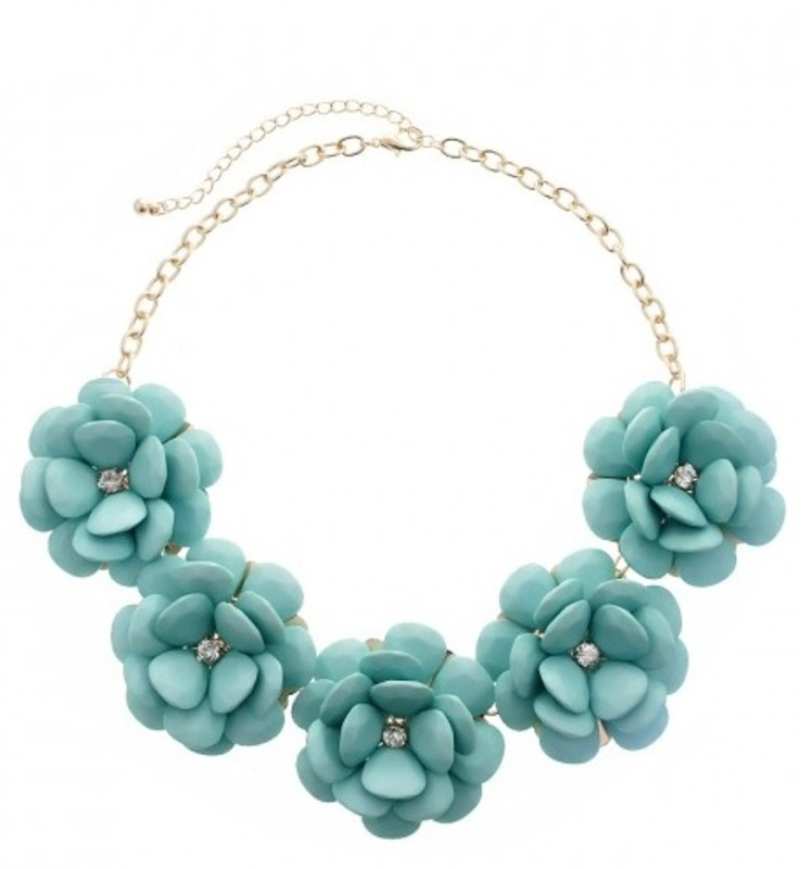 Urban Gem Leila Flower Necklace