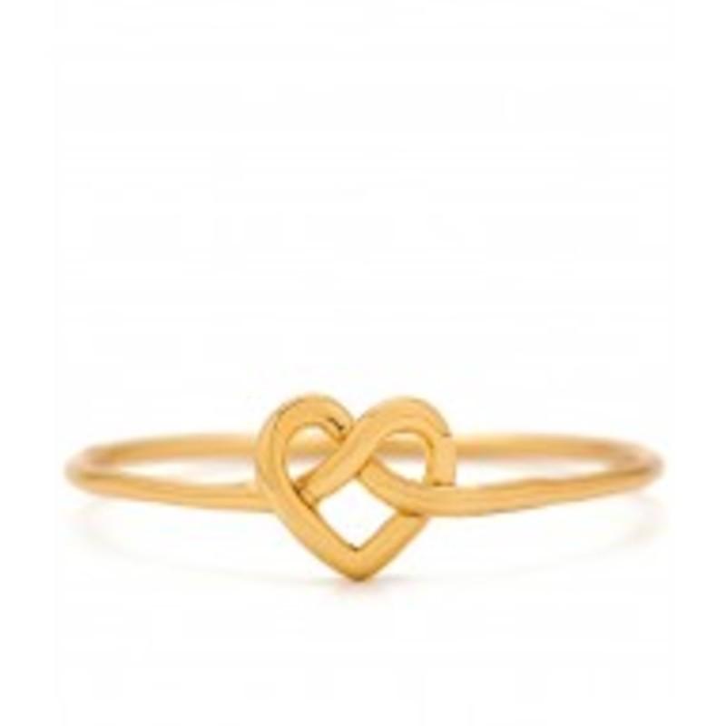 Gorjana Cross My Heart Ring
