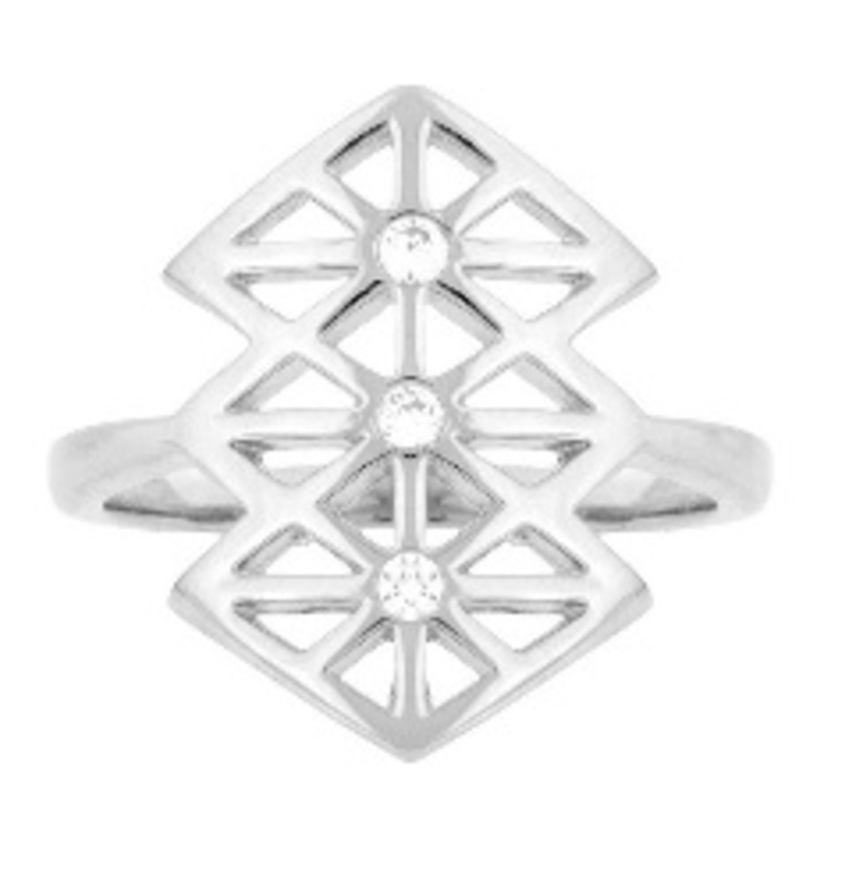 Matterial Fix Lattice Ring (Peru Collection)