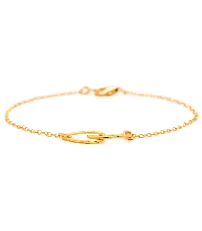 Gorjana Conwell Charm Bracelet in Gold