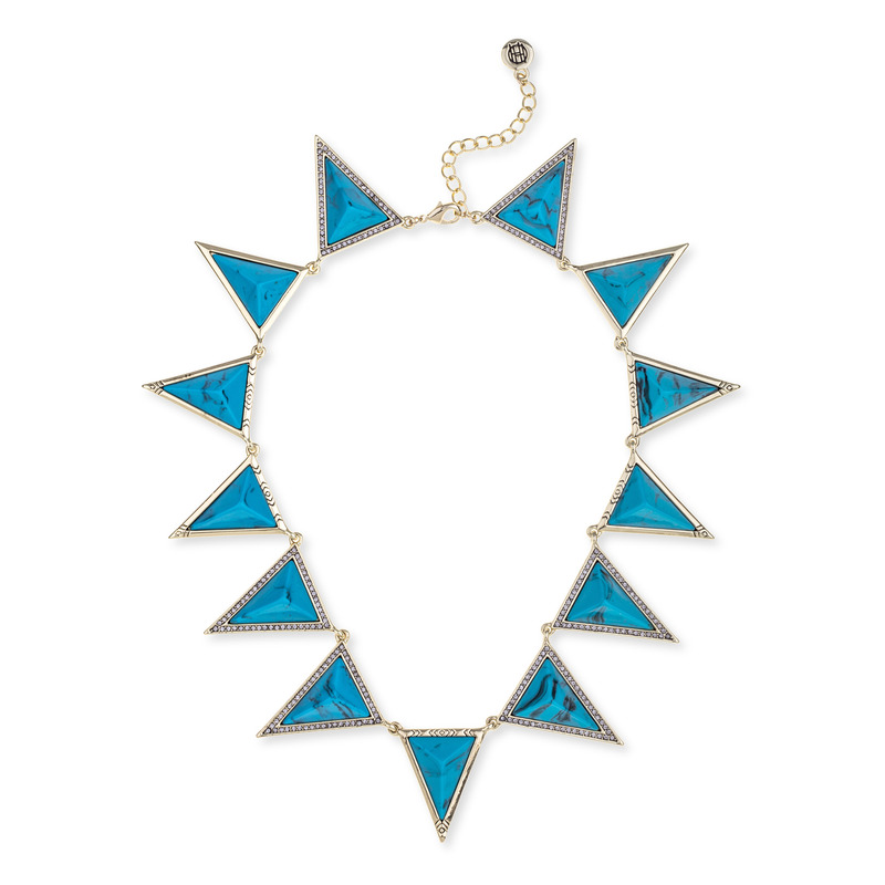 House of Harlow 1960 Triangle Theorem Collar Necklace