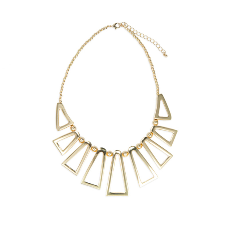 Jules Smith Open Triangle Necklace