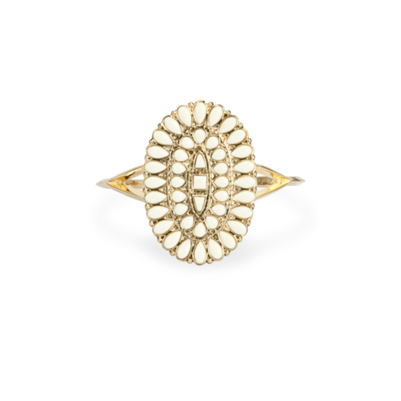 House of Harlow 1960 Howl Cuff in Ivory