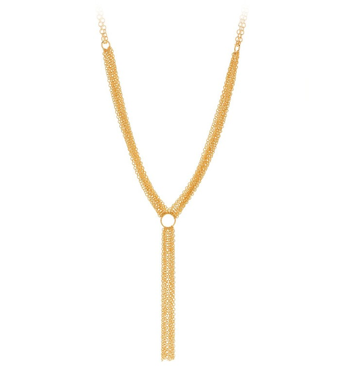 Gorjana Mave Tassel Necklace