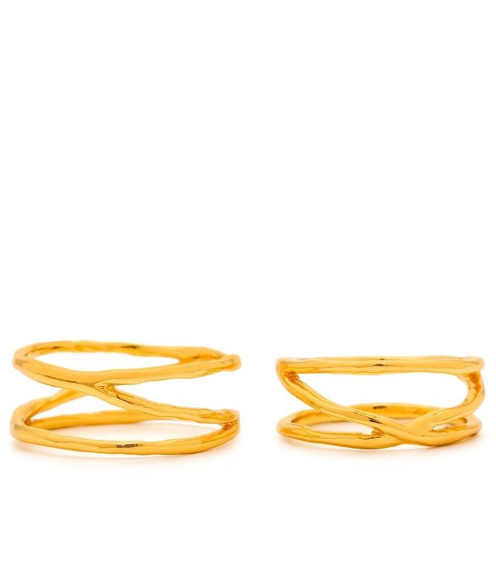 Gorjana Isla Ring & Midi Ring Set