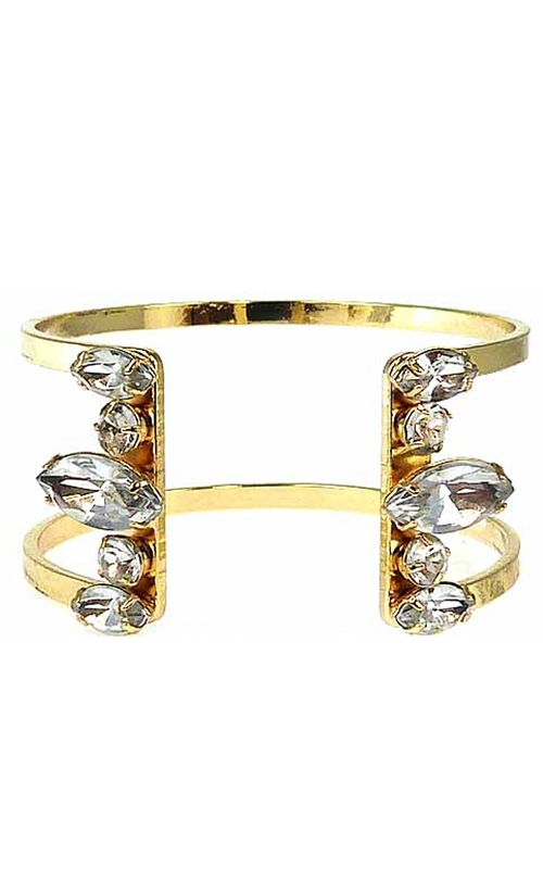 ILY Couture Clear Luxe Open Cuff