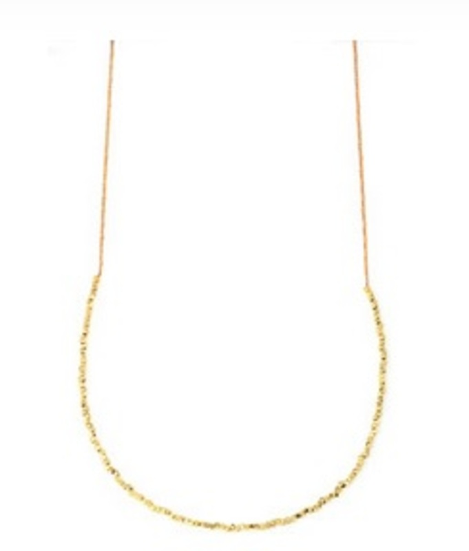 Vanessa Mooney Brittany Necklace - Small Nuggets